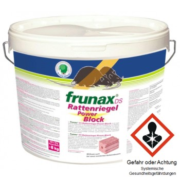 frunax® DS Rattenriegel Power-Block Eimer 8 Kg